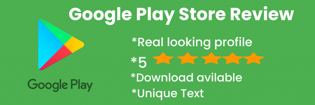 buy google play store review