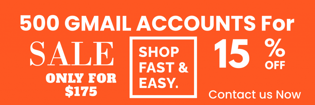 buy gmail accounts instant delivery
